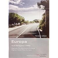 AUDI NAVIGATION 2015 MMI 2G EUROPE