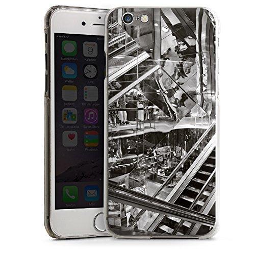 Apple iPhone 5c Housse Outdoor Étui militaire Coque Escalier Escaliers Miroir CasDur transparent