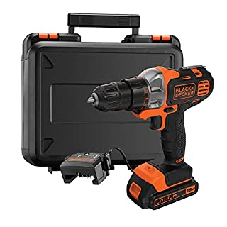 BLACK+DECKER 18V Multievo Multi Tool with Drill Driver Attachment with 1.5Ah Lithium Ion Battery