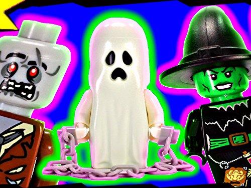 Clip: Halloween Graveyard (Lego Halloween Special)