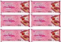 Harveys Crunchy & Creame Gourmet Delicacies Cream Wafer Biscuit 150 g Sticks - Strawberry Flavoured (Pack of 6)