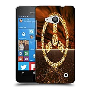 Snoogg radioactivity Designer Protective Back Case Cover For Microsoft Lumia 550