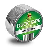 Duck Tape Silber Metallic  Gewebeband, 48 mm x 9,1 m zum Dekorieren, Basteln und Verschönern