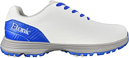 Etonic Men's Stabilizer Shoes, White/Blue , Size 8 Medium