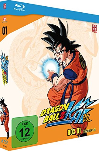 Dragonball Z Kai - Box 1 (Episoden 1-16) (2 Discs) [Blu-ray]