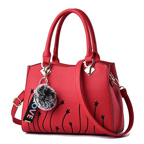 KAIDILA Handtasche für Frauen Kreuz Leichensäcke Shopper Damen Tasche Amerikanische Mode Handtasche Stickerei Schulter Crossbody Tasche