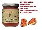Nduja Calabrese Nduja di Spilinga Originale Senza Conservanti e Coloranti in vasetto 180 gr.