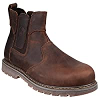 Amblers Steel FS165 Safety Boot / Womens Ladies Boots / Dealers Safety (4 UK) (Brown)