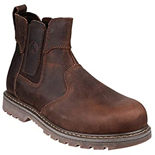 Amblers Steel FS165 Safety Boot / Womens Ladies Boots / Dealers Safety (6 UK) (Brown)