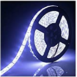 Manthan Waterproof White 5 Meter 3528 Led Strip 300Led 12V DC With Adaptor (White)
