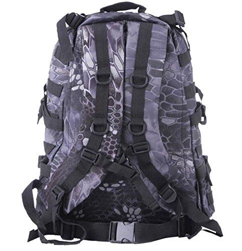 Yy.f Im Freien Bergsteigen Taschen Multifunktional Rucksäcke Taktische Militärische Fans Rucksack 3D-wasserdicht Oxford Umhängetasche. Größe: 9.84 * 5.9 * 17 72 Inches A