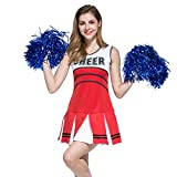 VENI MASEE Collectie Cheerleader Pompons, 1 Paar, Prijs Er 2 Stuks, 0,02 kg/stuk, 6 Kleuren -