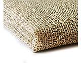 Primaflor - Ideen in Textil Anti-Rutsch Matte Teppichunterlage Natur-Stop - 1,90m x 2,90m Teppich Stopper aus Jutegewebe, Waschbar, Für Alle Böden Geeignet