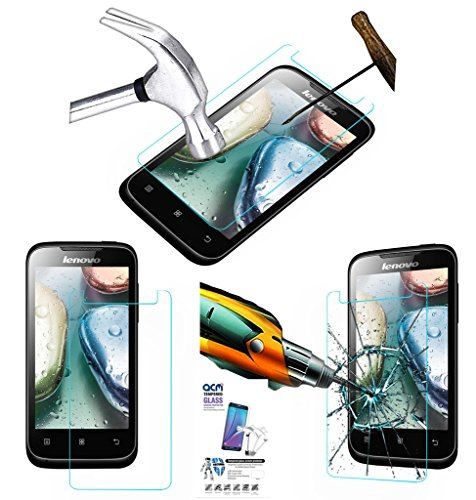 Acm Tempered Glass Screenguard For Lenovo A269i Mobile Screen Guard Scratch Protector  available at amazon for Rs.179