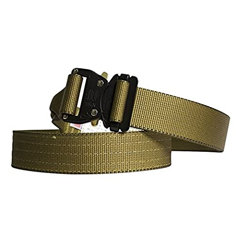 Fusion Tactical Military Police Riggers Belt Coyote Brown X-Large 43-48