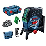 Bosch Professional 0601066H70 GCL 2-50 CG Green Beam Combi Laser with RM2 Rotating