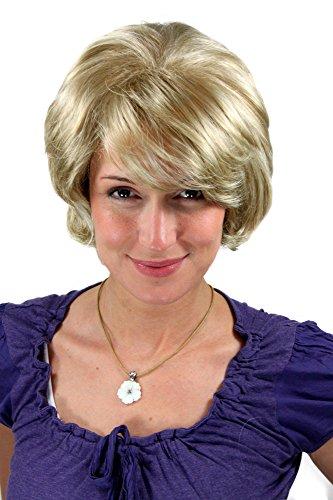 Perücke kurz wellig blond (Kurze Blonde Perücken)