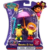 Dora the Explorer Action Figure Boots Isa in Rain Gear by Fisher-Price