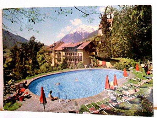 AK Hotel ' Thurnergut '. Dorf Tirol. Fam. Pirscher. Gebäudeansicht, Swimmingpool mit Gästen,...