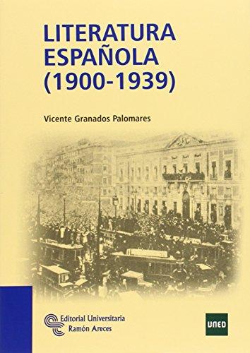Literatura española (1900-1939) (Manuales)