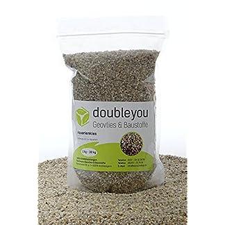 1 kg to 25kg Aquarium Gravel Grain Size 2-3mm–Made in Germany–Quartz Sand–Round 12
