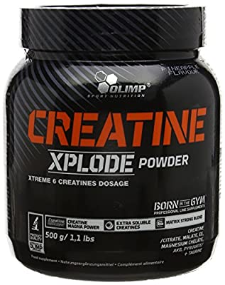 Olimp Labs Creatine Xplode Powder, Pineapple Flavour, 500 g from Olimp Labs