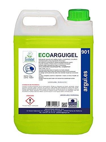 Ecoarguigel Arguigreen Line Lavavajillas manual concentrado