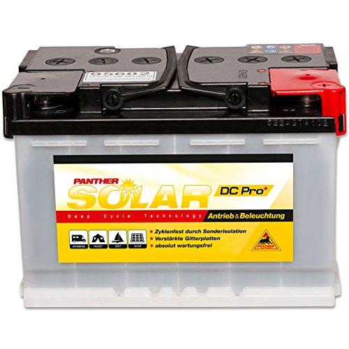 Preisvergleich Produktbild Panther Solar DC Pro 12 V / 100 Ah (C100) 95602 Antrieb Beleuchtung Batterie Versorgungsbatterie