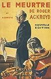 Le Meurtre de Roger Ackroyd - Fac-similé prestige - Le Masque - 02/11/2017