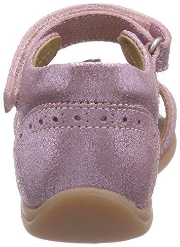 Bisgaard Sandals, Chaussures Marche Bébé Fille Rose (08 Glitte- rose)