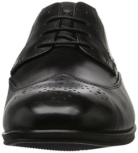 Rockport - Style Connected Wingtip, Stivali Uomo Nero (Black Leather)