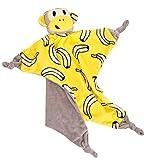 La Vogue Couverture Bébé Fille Garçon Poussette Couchage Serviette Peignoir Bain Cartoon Jaune Singe