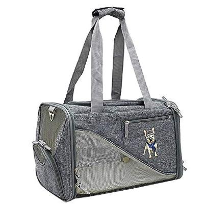 Pet Carrier Sling Bag Pet Carrier Dog Backpack Dogs Sling Cat Puppy Rabbit Cage Transport Shoulder Bag Lightweight Soft Sided Foldable by LIUXING
