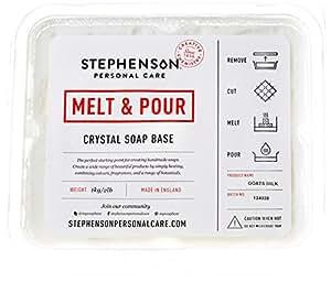 Melt and pour base de savon transparent sans laureth - Gel douche sans sodium laureth sulfate ...