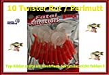 Twister Rot / Perlmutt 2,5 cm