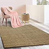 Floordirekt Jute-Teppich | Natur Teppich Urbano | Naturfaser | Sisal Look | Handgewebt | Bouclé | 6 Größen | 4 Farben (Natur, 140x200 cm)