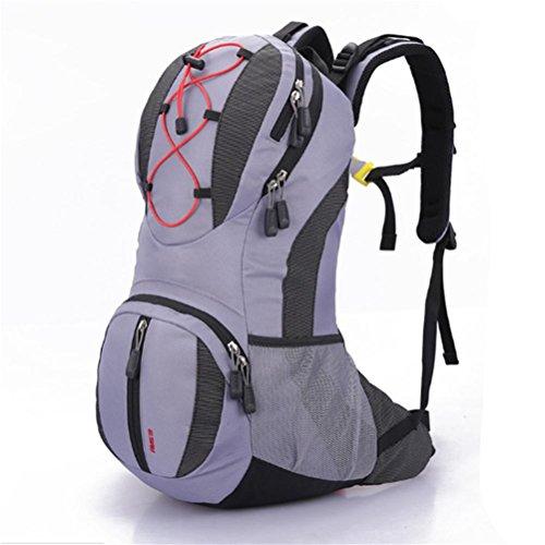 Zaino esterno, escursioni a cavallo sacchetto di campeggio, uomini e donne borsa a tracolla, uomini e donne, di nylon, impermeabile, traspirante, riducendo l'onere , b e