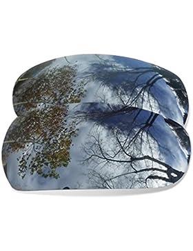Sunglasses Restorer Lentes de Recambio para Arnette Slide 4007 (Black Iridium)