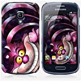 Coque Samsung Galaxy S3 mini de chez Skinkin - Design original : Cheshire cat par Mandie Manzano