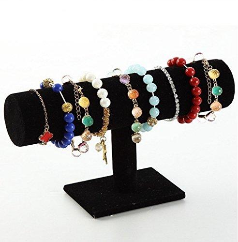 aution-house-vintage-jewelry-organizer-tier-watch-bangle-bracelet-display-unit-stand-black-velvet-po