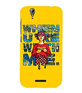 EPICCASE Wonderwoman love Mobile Back Case Cover For Acer Liquid Z630 (Designer Case)