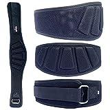 APRODO Power Guidance Nylon Weightlifting Belt Lumbar Waist Support Trainer Protector Belts