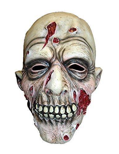 (Latex Full Head Overhead Halloween Horror Masks Fancy Dress Up Full Face Mask (Dead Like Fred Zombie Mask) by WF)