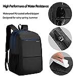 Kopack Slim Laptop Backpack with USB Charging Port Water Resistant School Backpack Travel Rucksack 15.6 Laptop Bag - laptop-backpacks