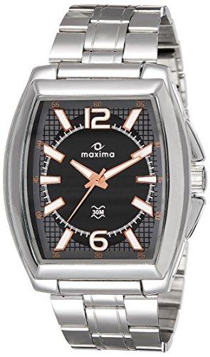 Maxima Analog Black Dial Men's Watch-38151CAGI image