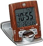 Marathon Cl030023wd Réveil de Voyage avec Calendrier et température–Batterie Incluse