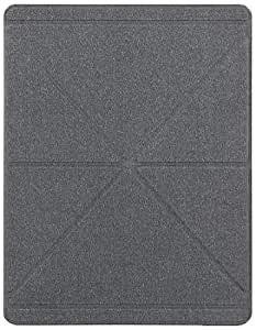 Moshi iGlaze VersaCover Origami Case with Wake/Sleep Function for The New 3rd 4th Generation iPad (Translucent )
