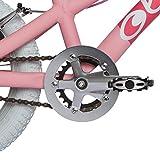 OLLO Bikes® - Kinderfahrrad 16 Zoll für Jungen und Mädchen von 4 – 6 Jahren - Engineered in Germany: Top-Qualität, Alu-Rahmen, hochwertige Alu-Komponenten, Ultraleicht nur 7,1 kg (Pink/weiß) -