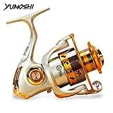 Best Fly Fishing Reels - Zorbes Yumoshi Metal Spool Spinning Fishing Reel Carretilha Review