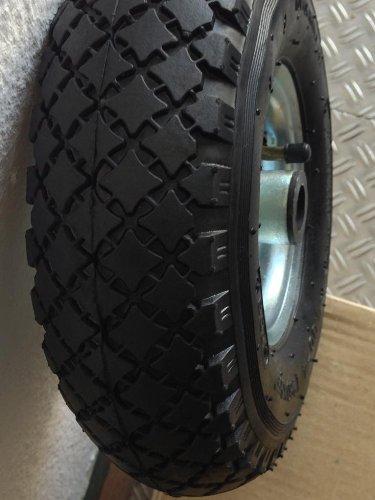 PU Ersatzrad Metallfelge Stützrad Anhänger Bugrad 260mm 3.00-4 Deichsel Art. 42756365 - Anhänger-reifen Und Felge